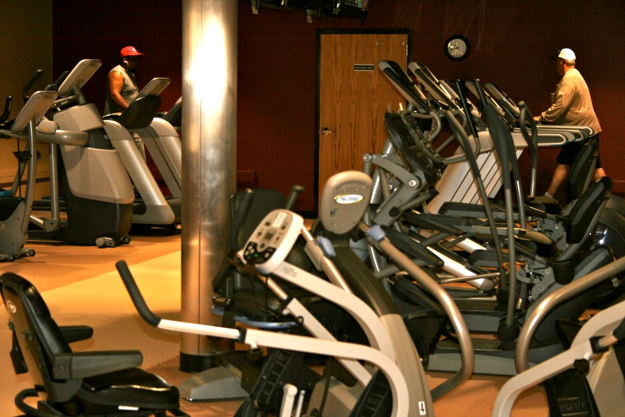 Fitness cardio machines