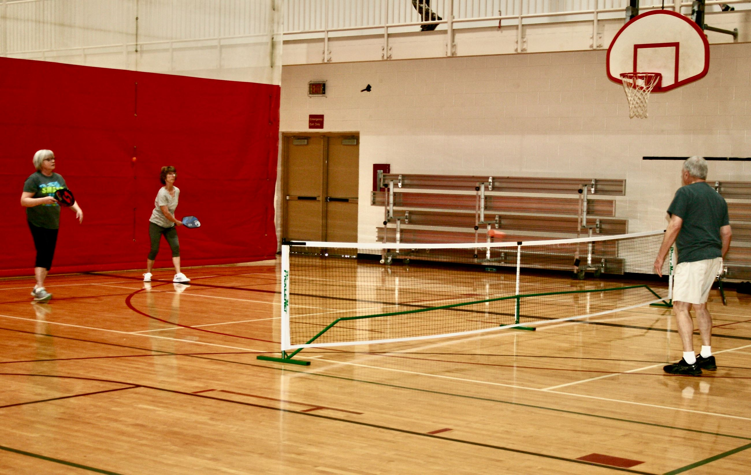 Pickleball Players at the ERC